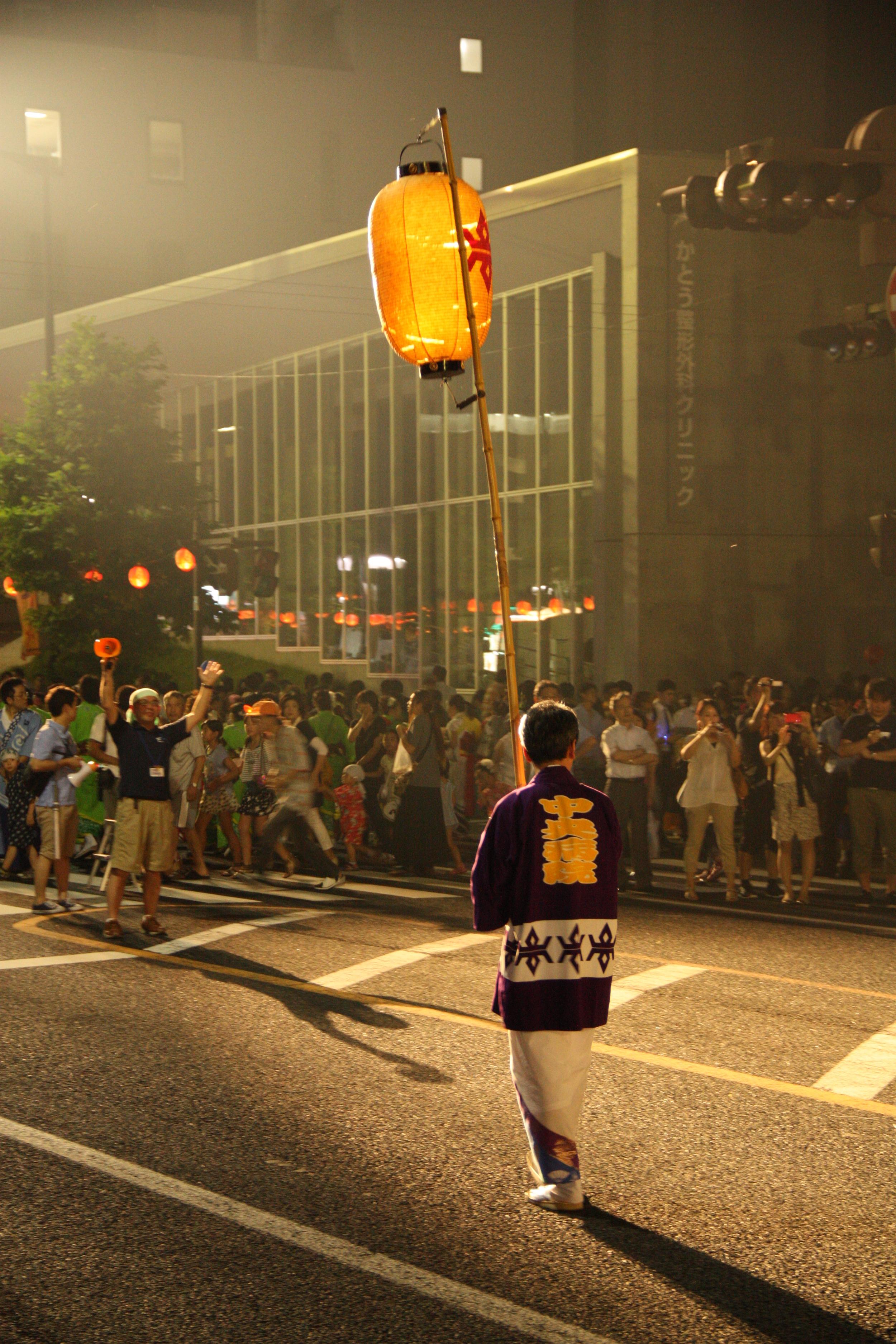 Festival - Sansa Odori - Pole Lantern - IMG_8411.JPG