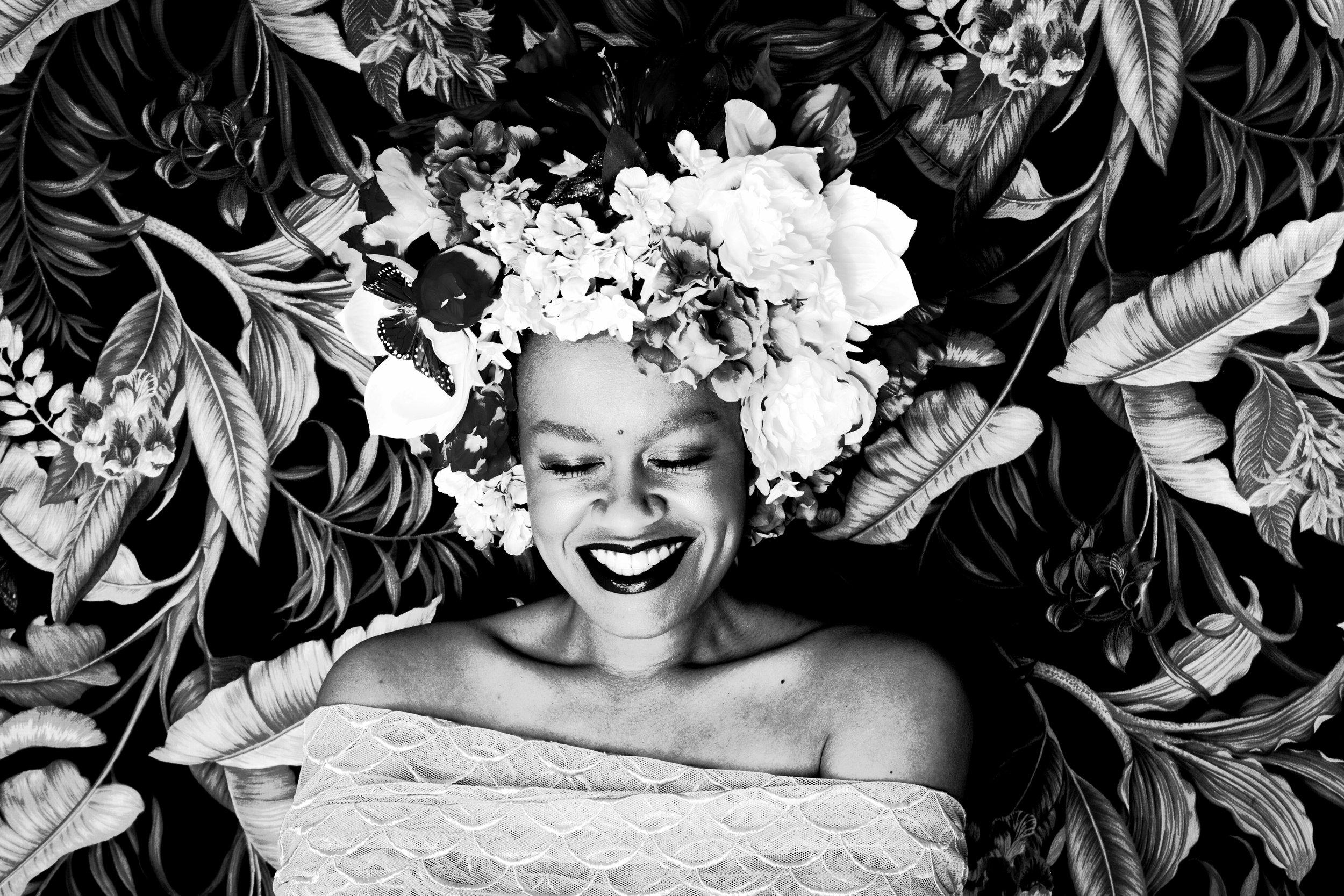 Photo by Ibra Acke. Art Direction by Wangechi Mutu
