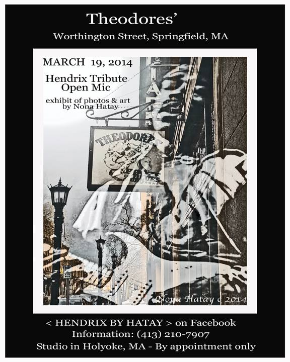 Open Mic: a Jimi Hendrix Tribute in Exhibit.