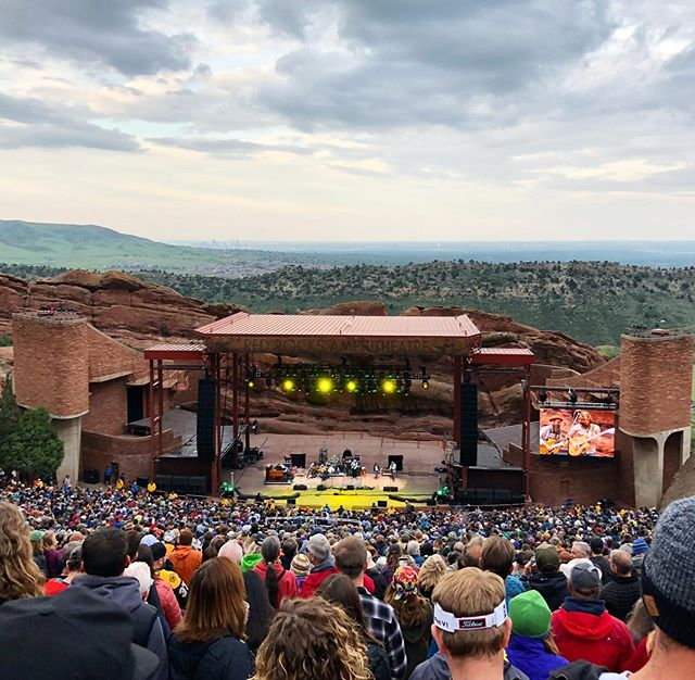Phil Lesh & The Terrapin Family Band  @redrocksco easily the best amphitheatre I have ever been to. Wow what a show!! #denver #gratefuldead #roadtrip