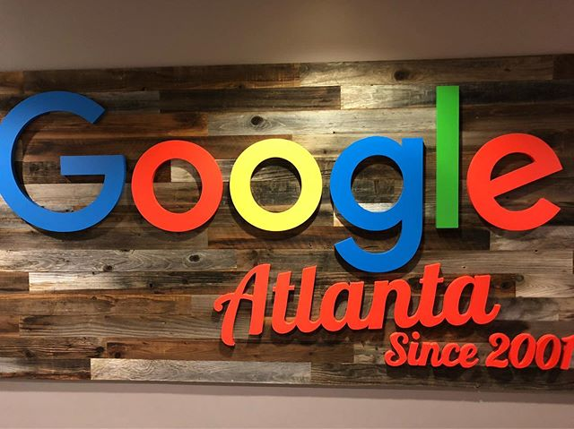 Had a tour of and breakfast at Google ATL headquarters today. Thanks Jason!! thanks @google #googleatlanta what an amazing work space