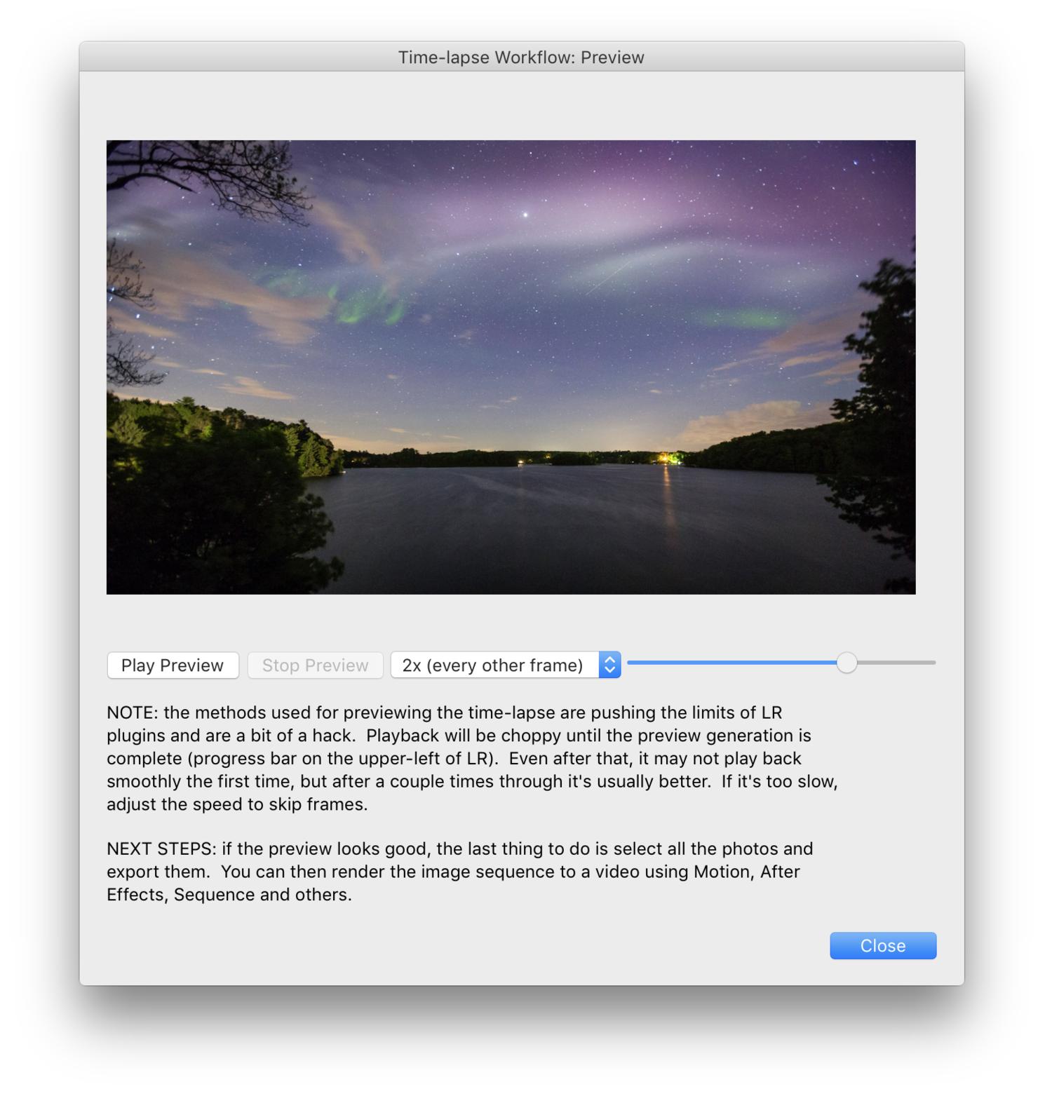Use Lightroom to Make a Timelapse — Timelapse+