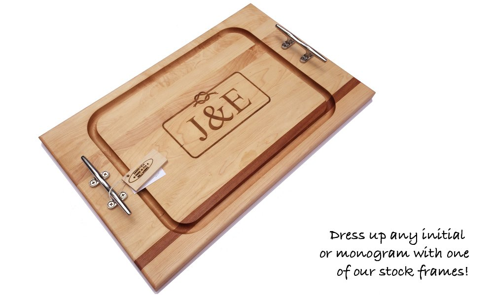wedding_gift_steak_cutting_board_engraved_with_nautical_cleats