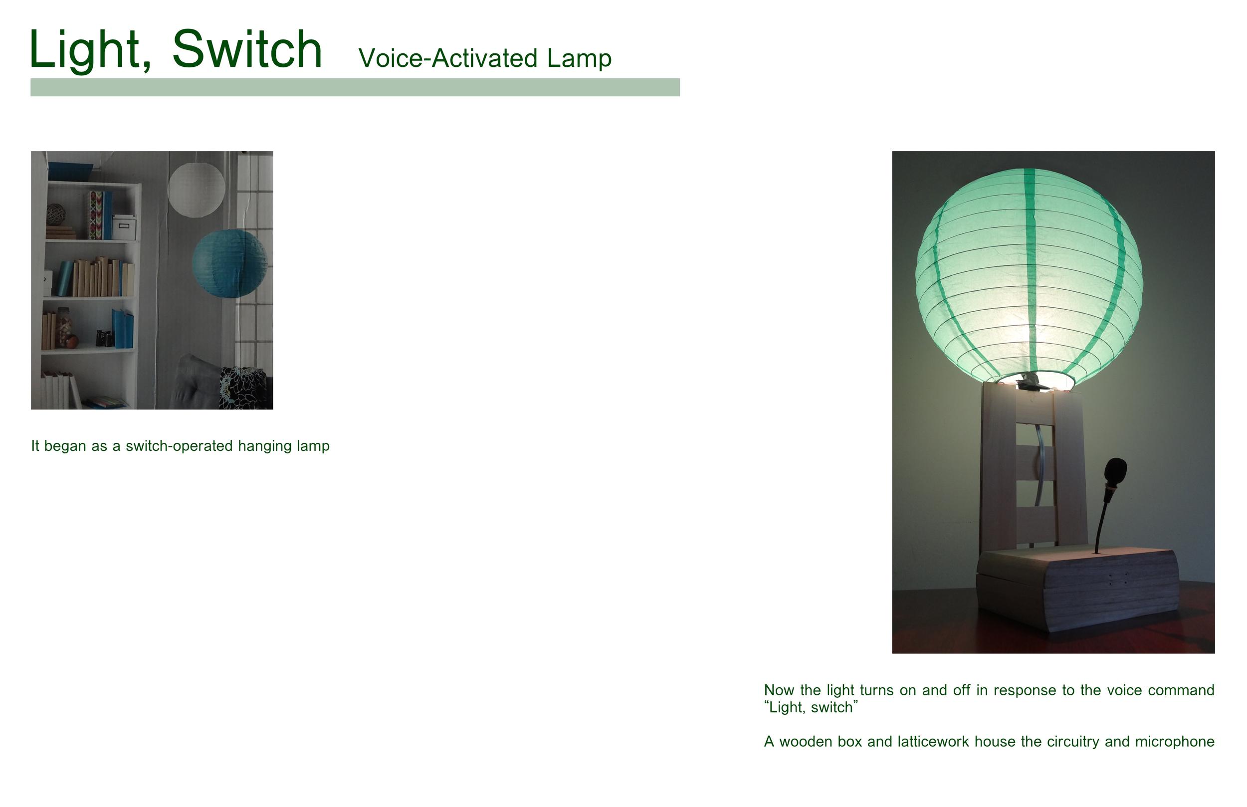 Light, Switch Brian Lieb