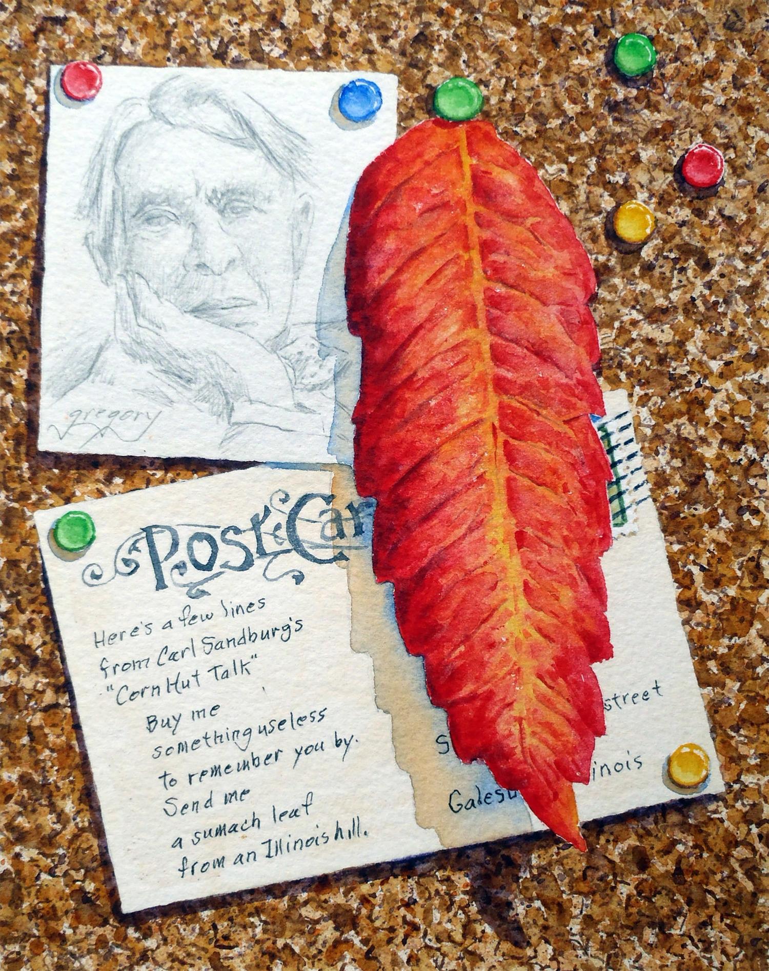 Sumach Leaf
