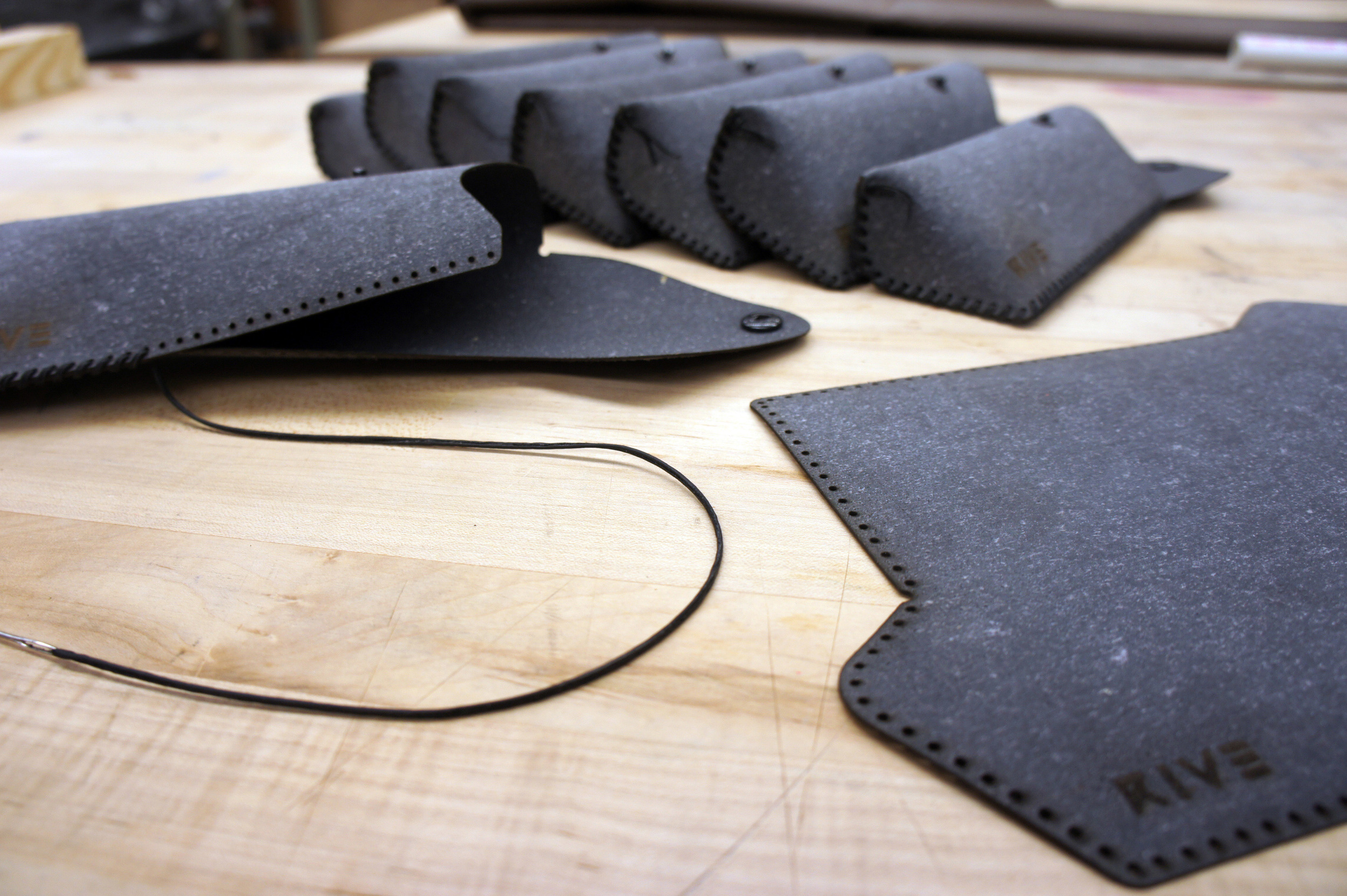stitching the cases