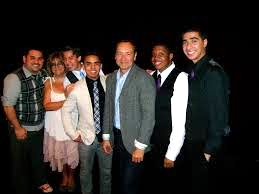 Ensemble and Youth Members with Kevin Spacey at Tribeca Film Festival Premiere of   Shakespeare High  .