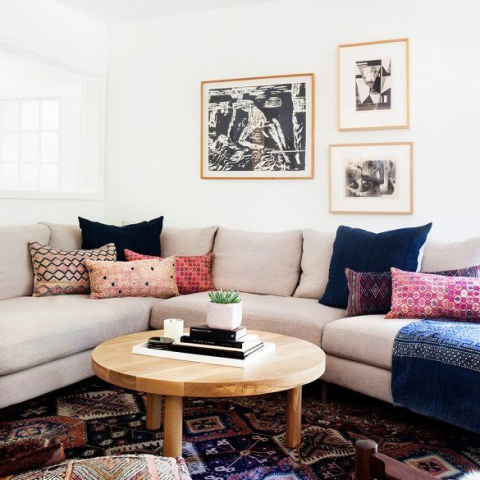 A Mid-Century Eclectic Home