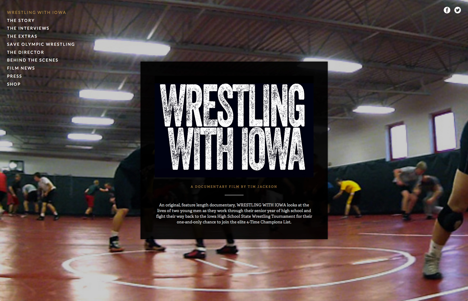 Wrestling With Iowa