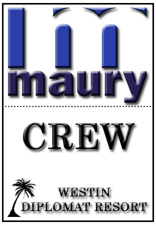 """MAURY SHOW"" CREW BADGE FOR FIELD SHOOT"