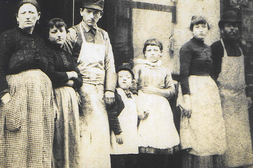 Israel and Goldie Lustgarten and their six children served this community at their kosher butcher store
