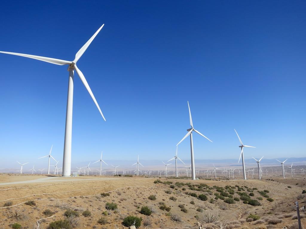 Wind Turbines -  Courtesy of    HalfwayAnywere