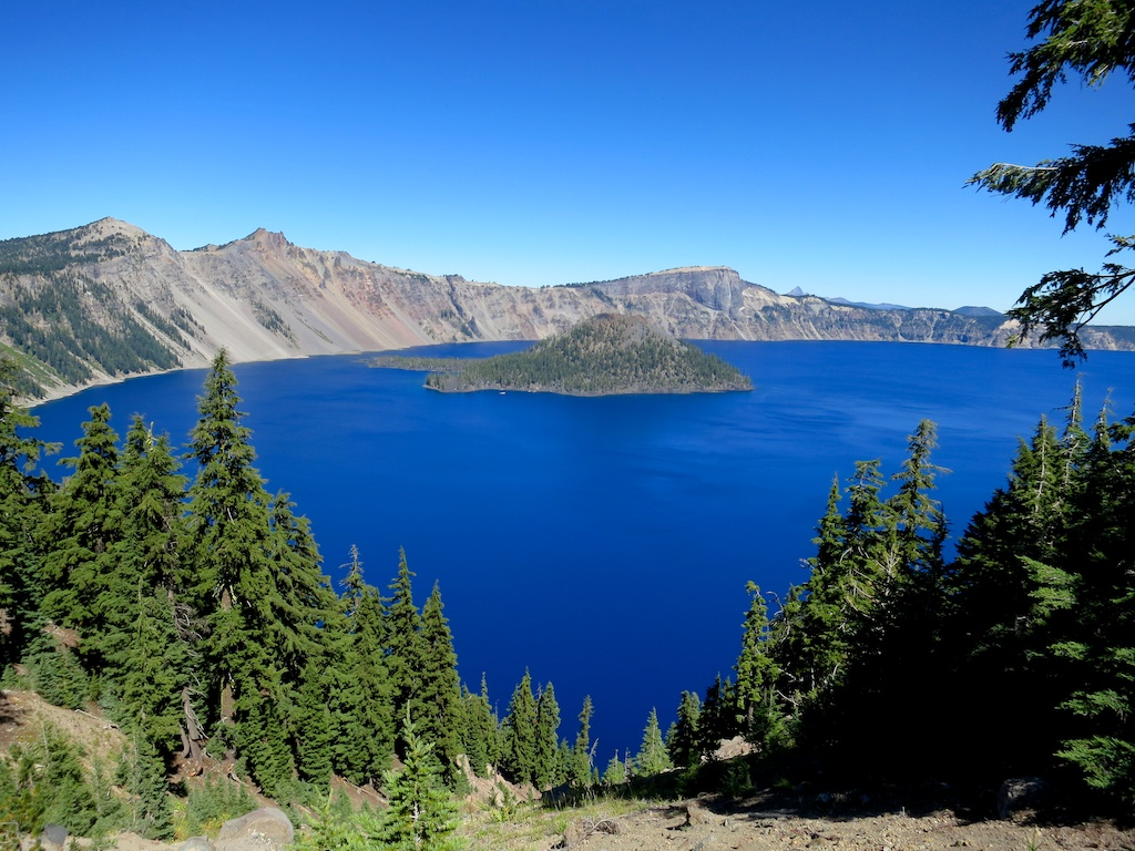 Crater Lake -   Courtesy of     HalfwayAnywere
