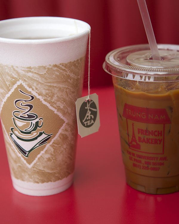 Coffee & Tea   Trung Nam Coffee (french press with condensed milk)   $4.00   Coffee |  $2.50   Green tea & black tea |  $2.00