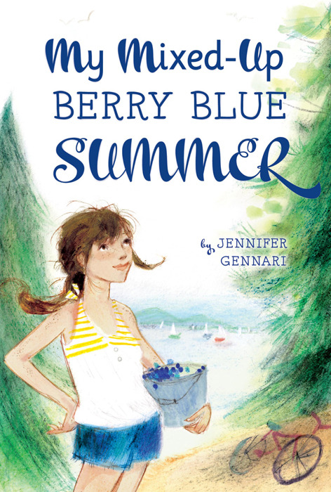 My Mixed Up Berry Blue Summer by Jennifer Gennari