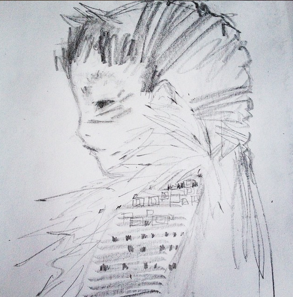 Julia Denos Sketchbook