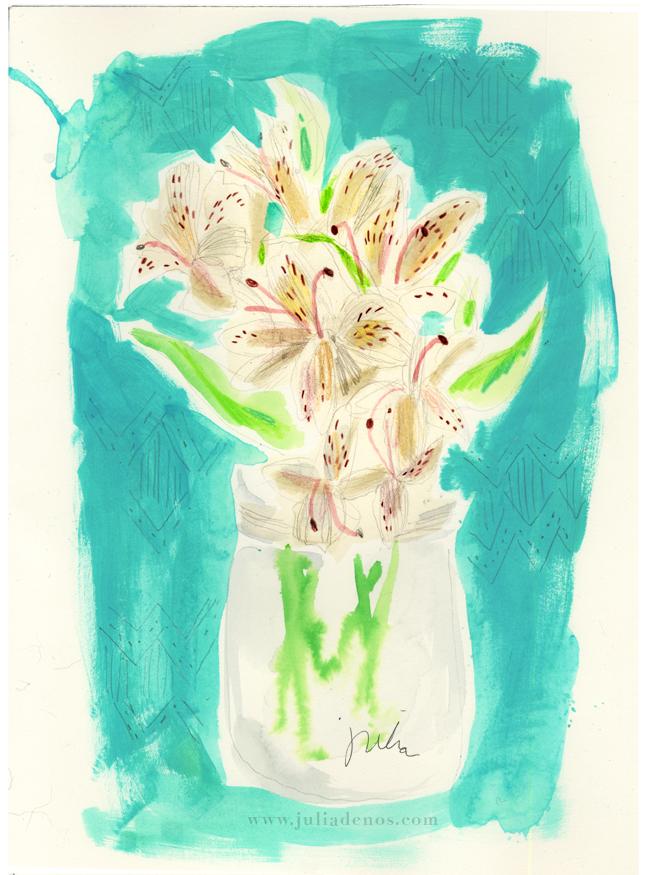 Julia Denos Watercolor