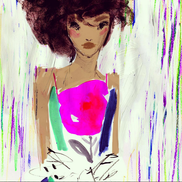 Julia Denos Fashion Illustration