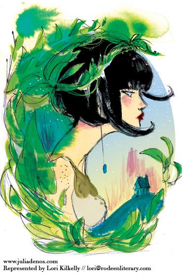 Julia Denos Green Girl