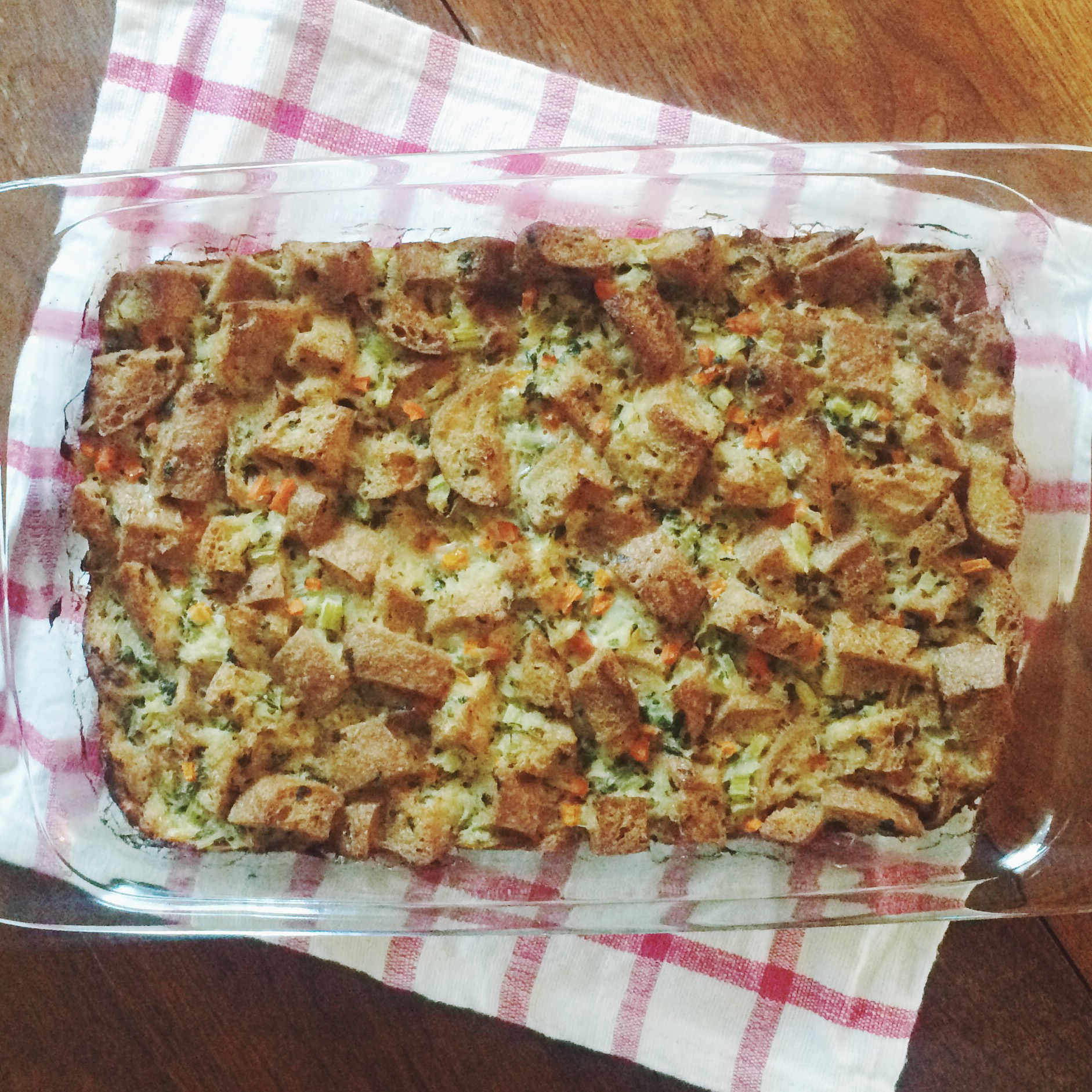 Gluten-Free Thanksgiving Stuffing from Bread SRSLY