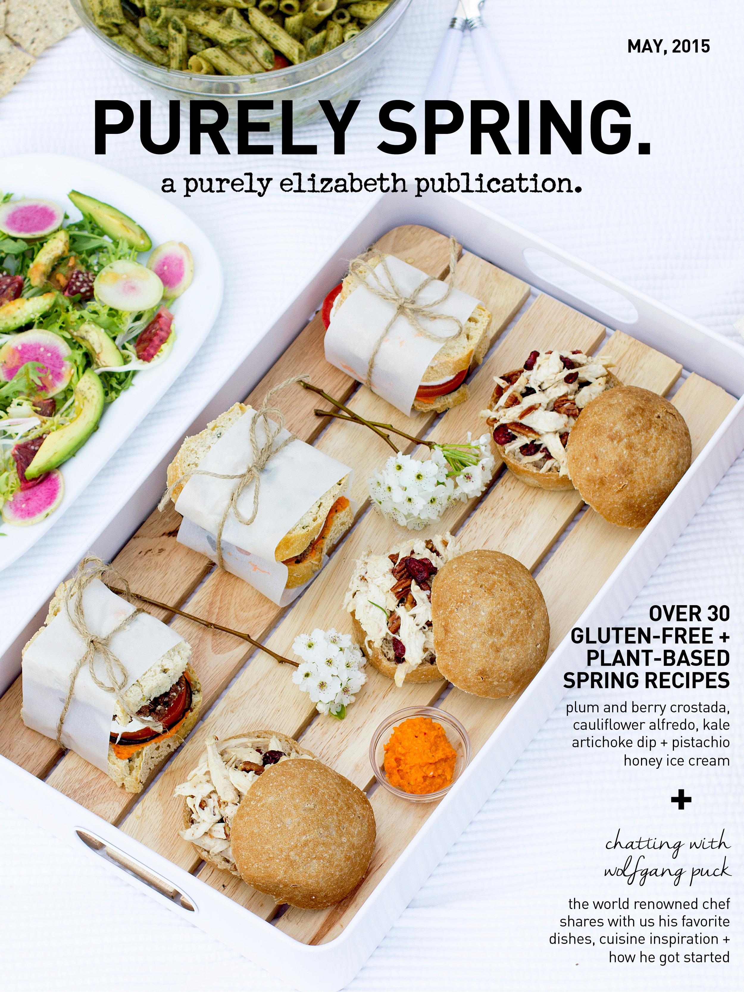 purely elizabeth's  purely spring  issue. Online magazine  here .