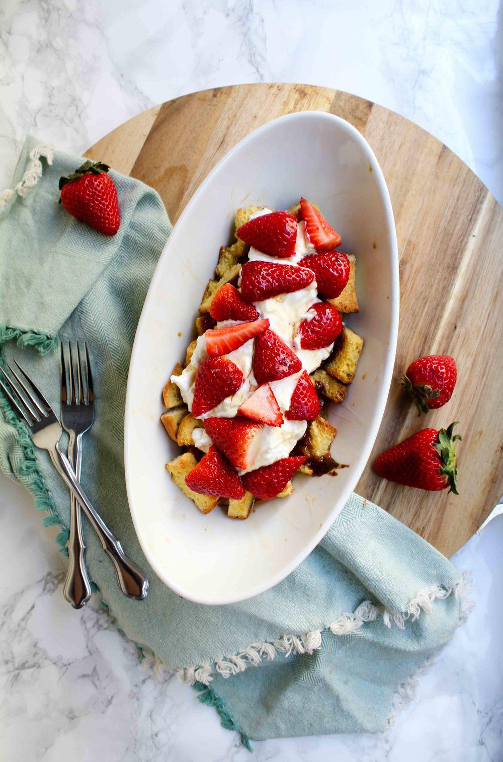 GF Strawberry Breakfast Strata