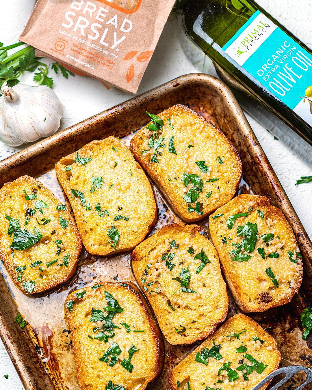 Gluten-Free Garlic Bread