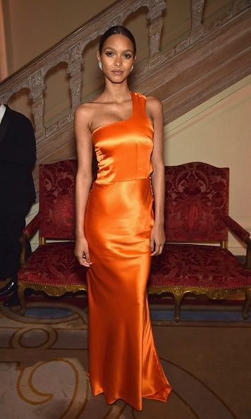 Lais ribeiro in sophie theallet at the White House Correspondents' dinner 2016-2.jpg