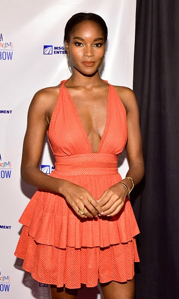 damaris lewis in sophie theallet - 2016 Garden of Dreams Talent Show at Radio City Music Hall on April 11, 2016 in New York City3.jpg