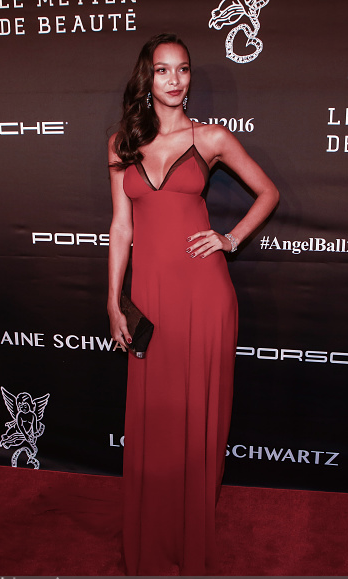 Lais ribeiro wearing sophie theallet Angel Ball 2016 - 2.png