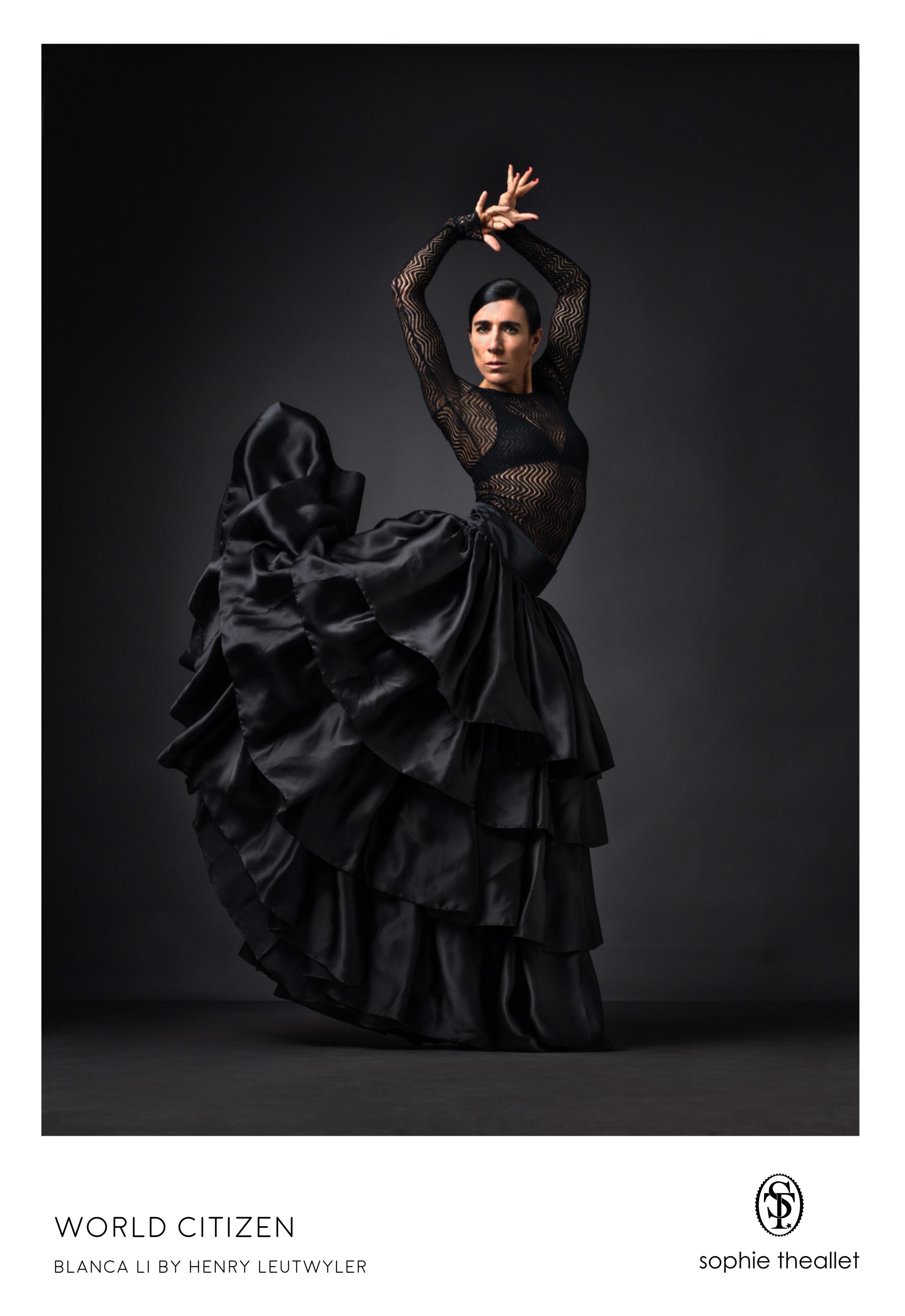 Blanca Li by Henry Leutwyler - sophie theallet SS17