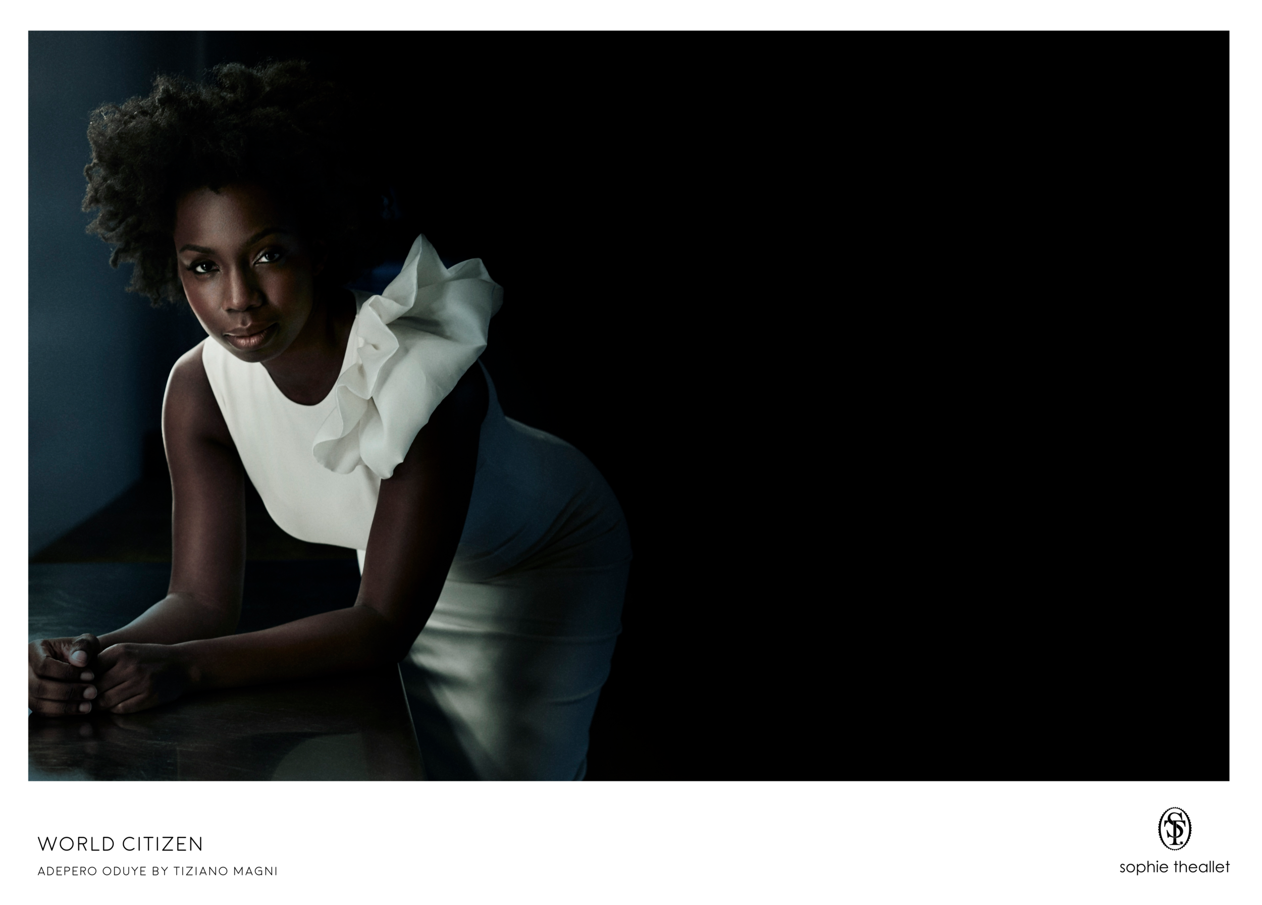 Adepero Oduye by Tiziano Magni - sophie theallet SS17