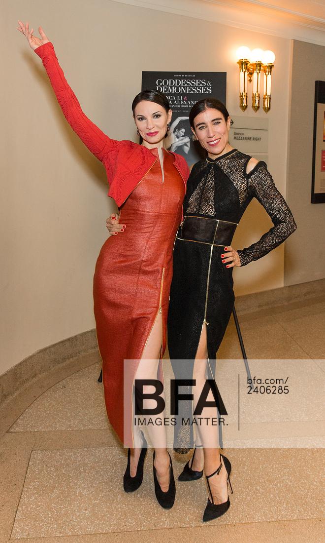 Blanca Li & Maria Alexandrova wearing sophie theallet the opening night of their US premiere of Goddesses & Demonesses.jpg