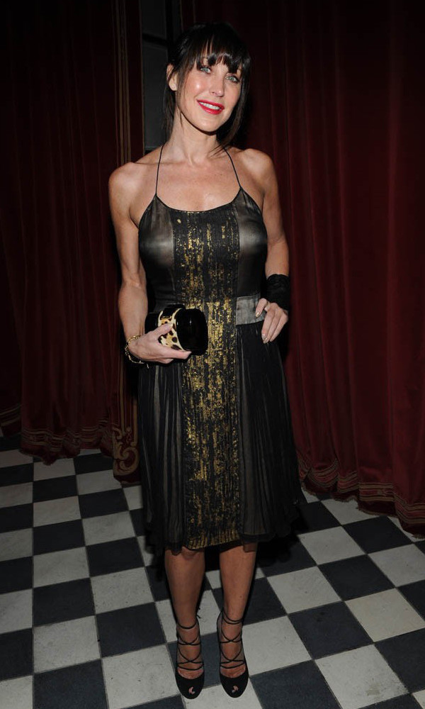 Tamara Mellon wearing sophie theallet Collaboration with the Rose Bar.jpg