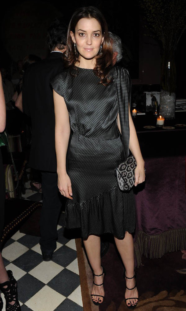 Fernanda Niven wearing sophie theallet Collaboration with the Rose Bar.jpg