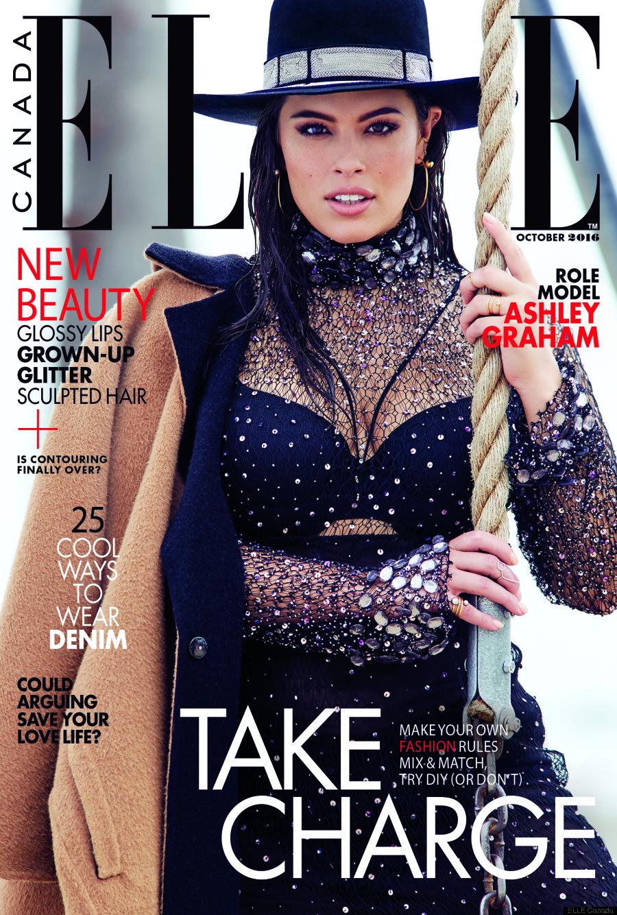 Ashley Graham - sophie theallet - ELLE CANADA cover October 2016.jpg