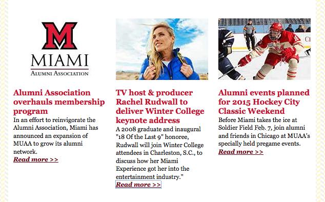 Miami University Keynote