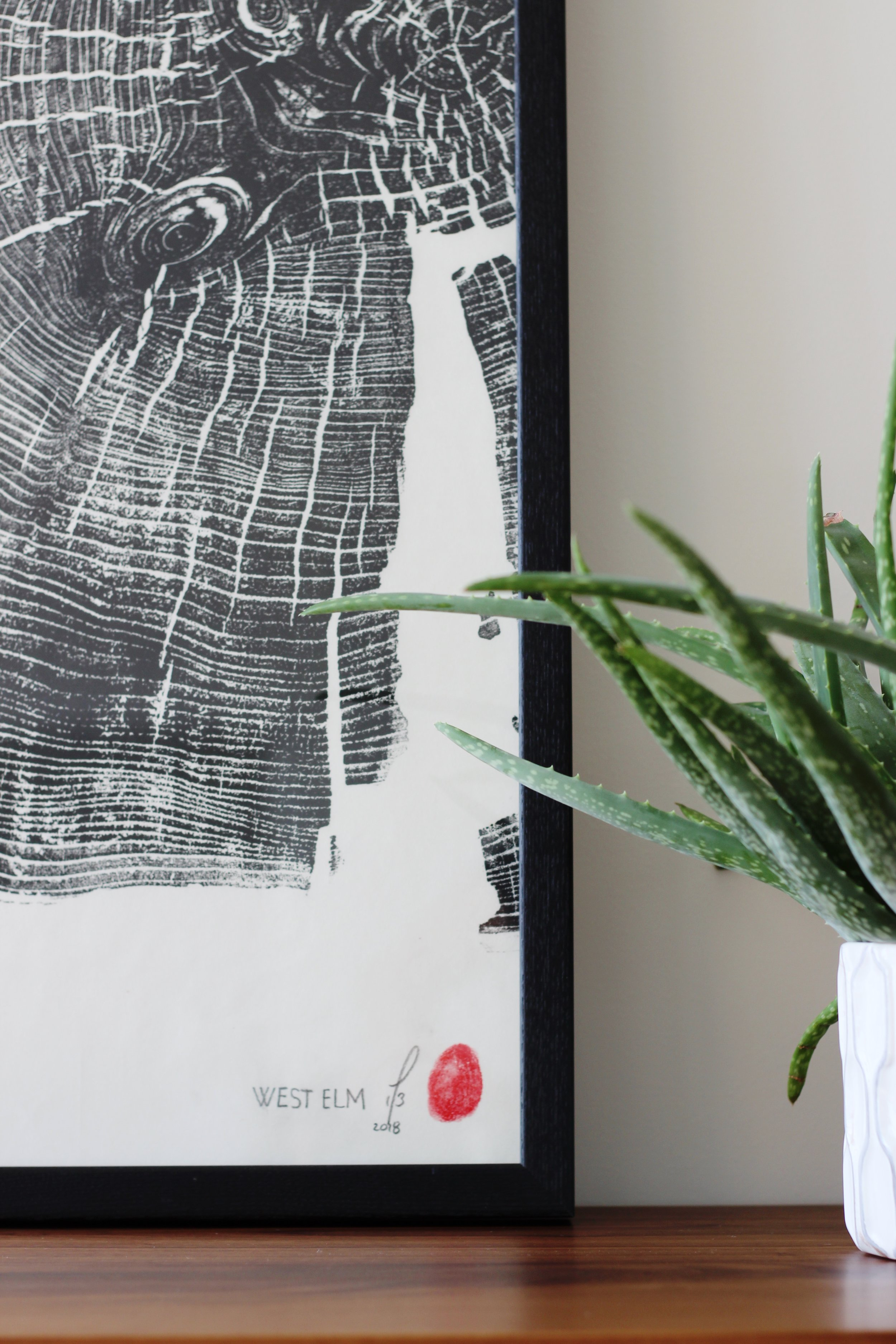 West Elm Diptych - Limited Edition /20