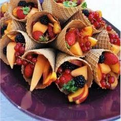 Fruit Cornucopias