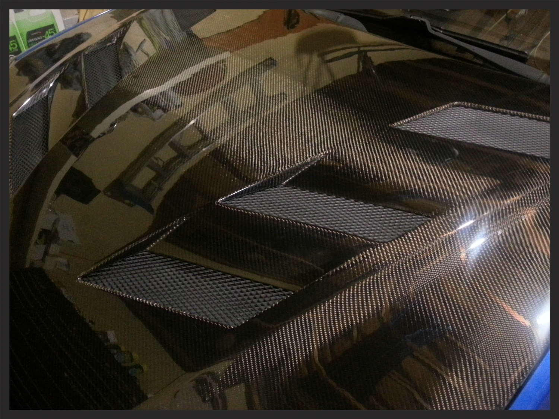Genesis Coupe Carbon Fiber Hood