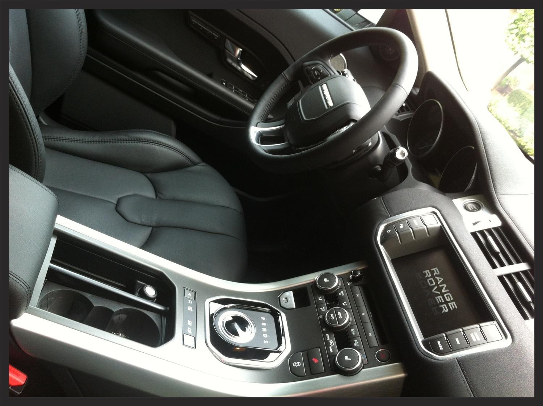 Range Rover Evoque Interior