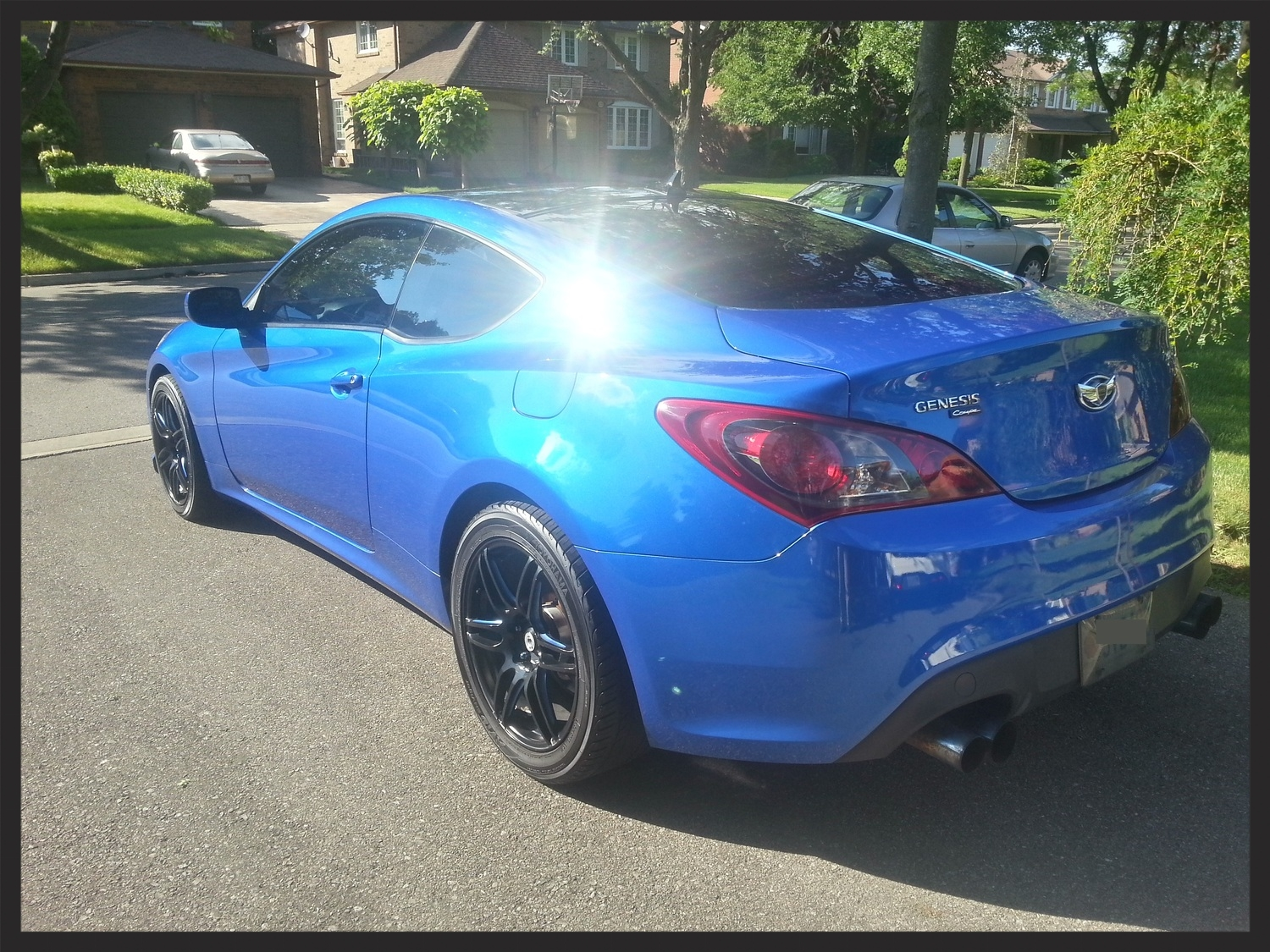 Hyundai Genesis Coupe 22PLE Glass Coating