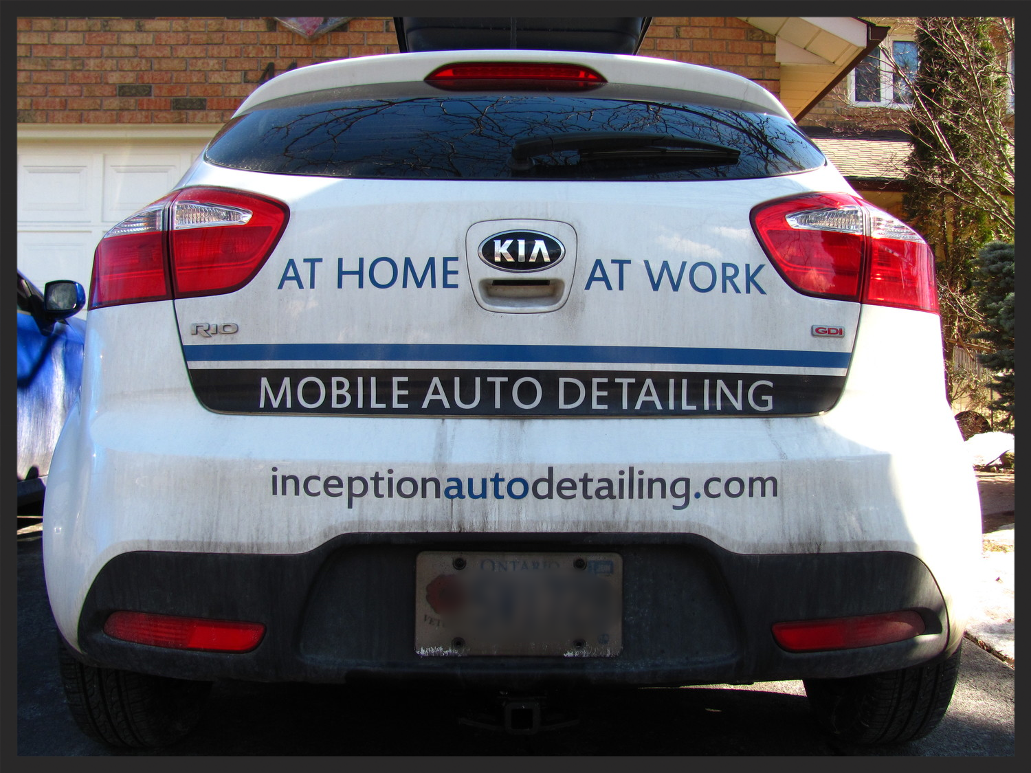 Inception Automotive Detailing Work Vehicle Kia Rio