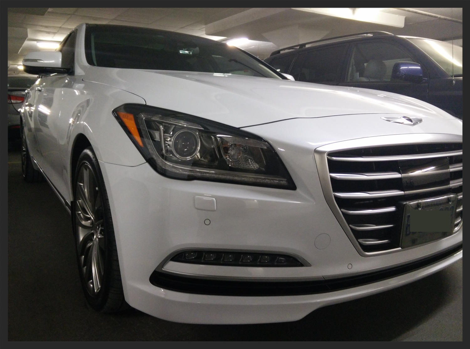 22PLE Glass Coat Hyundai Genesis Sedan