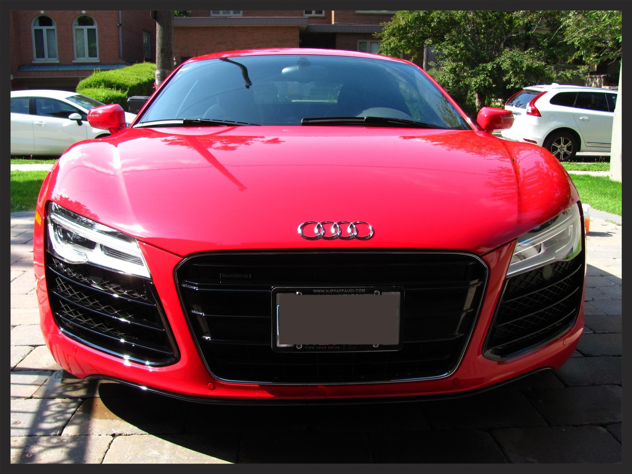 Audi R8 Detailed Inception Automotive Detailing