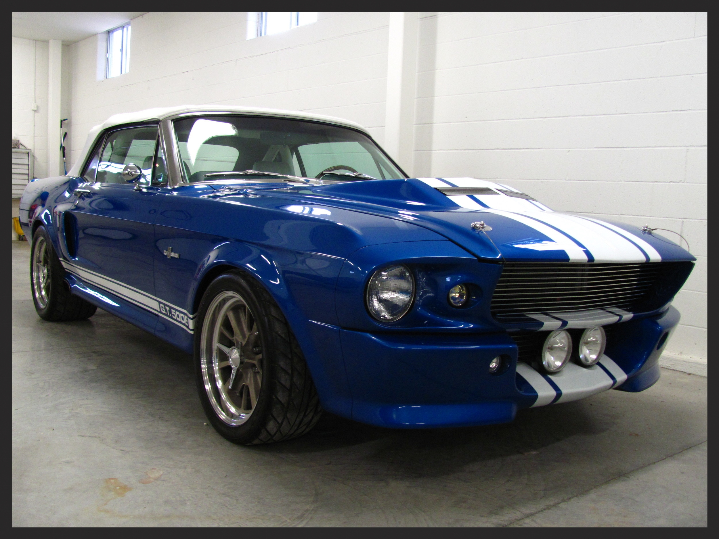 Ford Mustang GT500 Eleanor Detailed