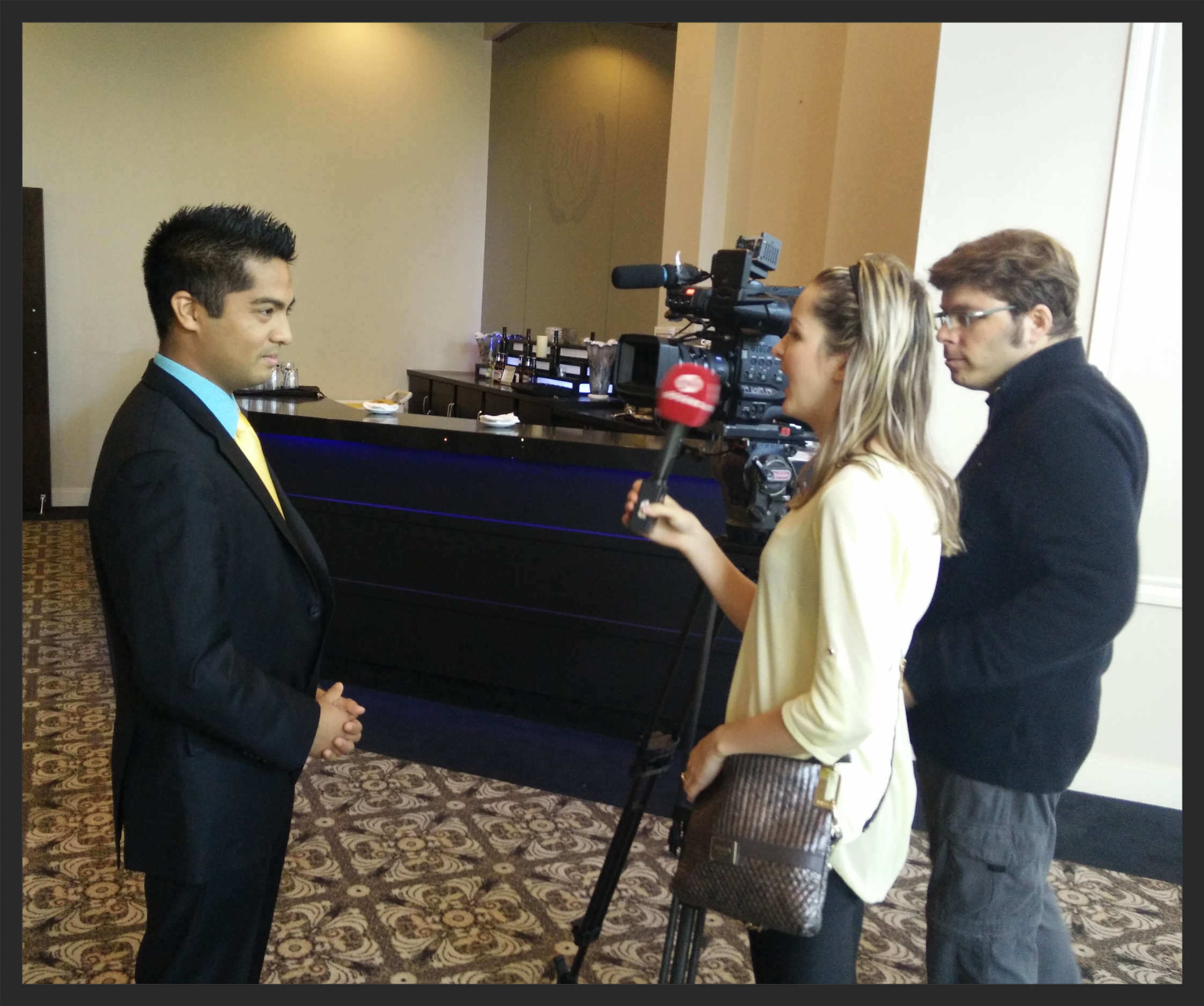 Inception Automotive Detailing Founder Lorenzo Escobal is interviewed by Rogers TV