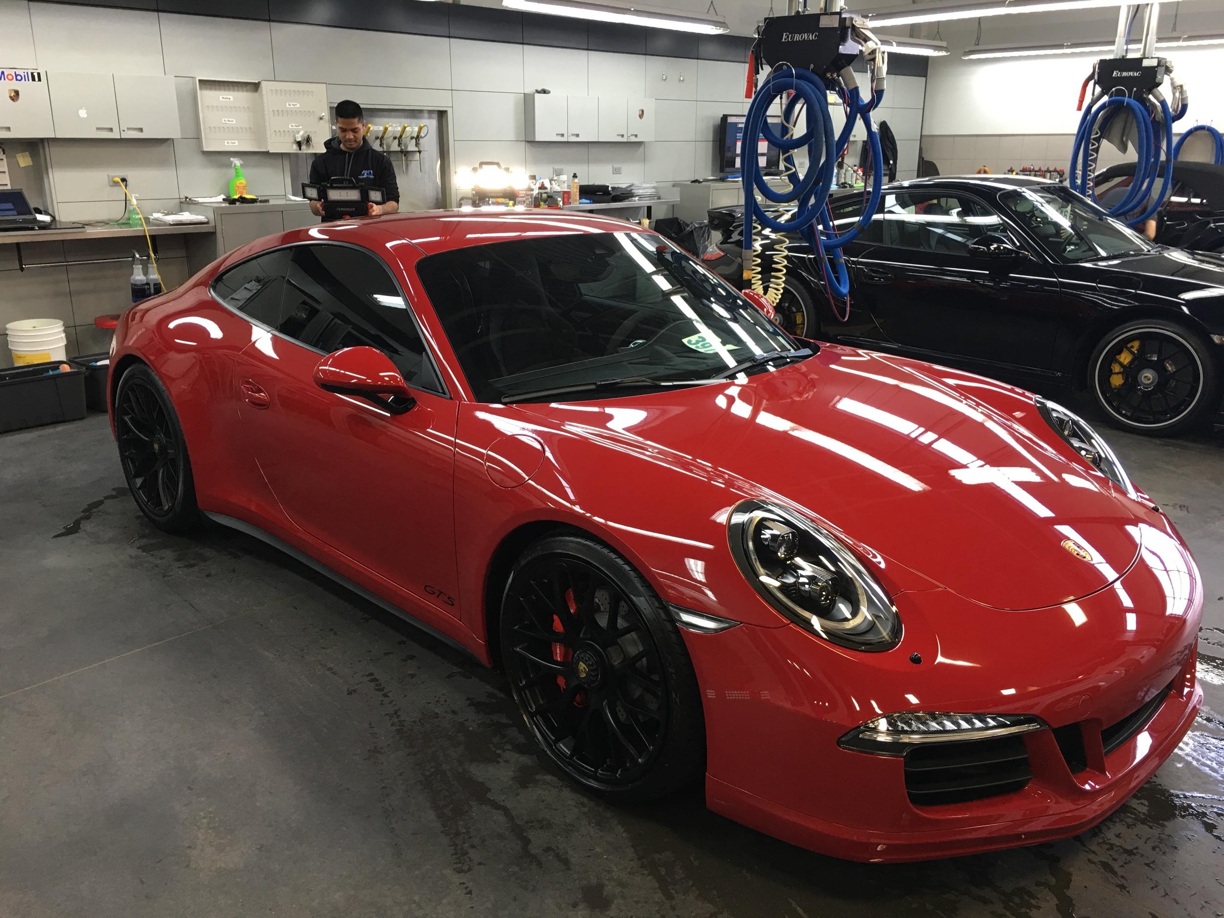 Porsche Centre Oakville Inception Auto Detailing