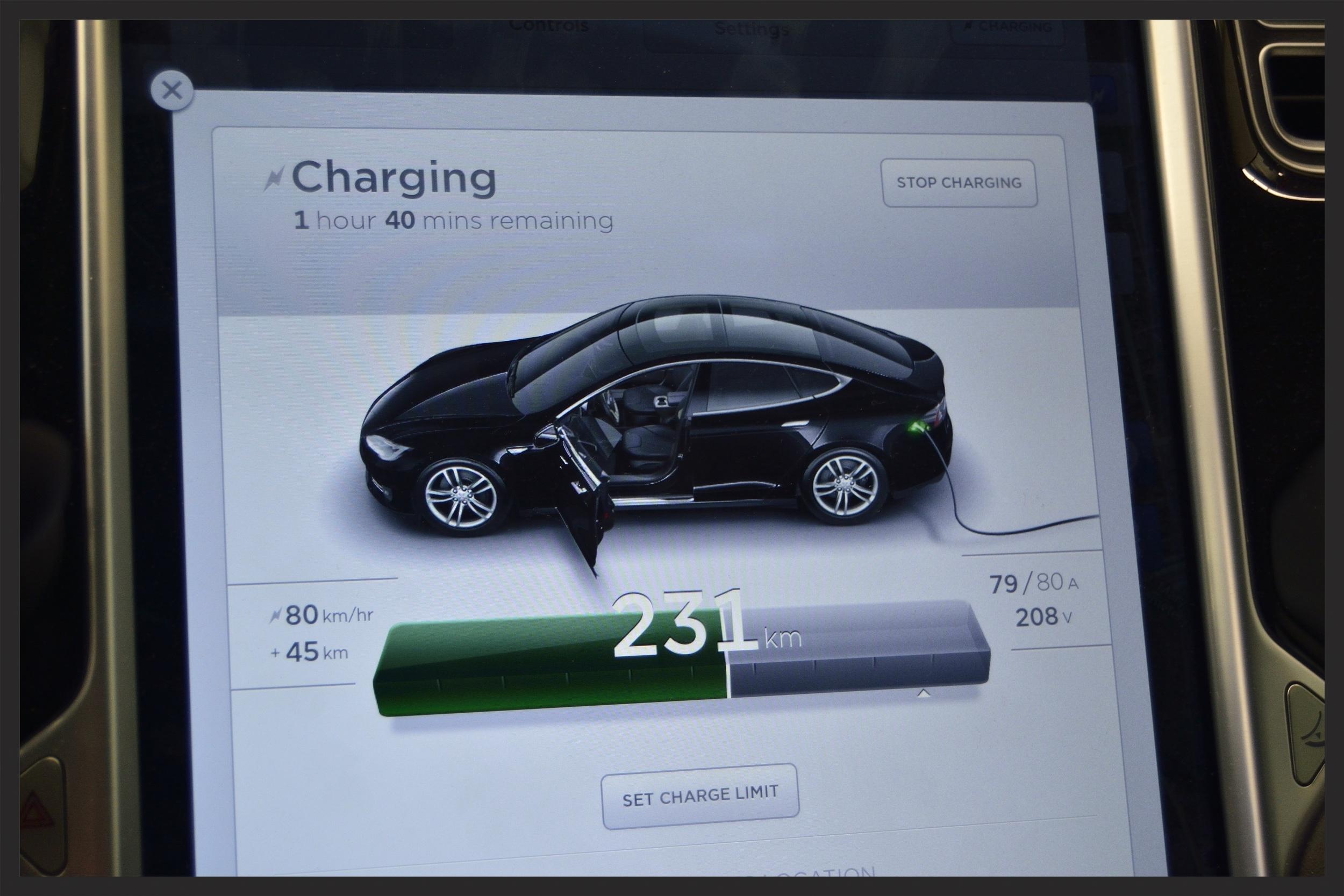 Tesla Model S Destination Charging Inception Auto Detailing