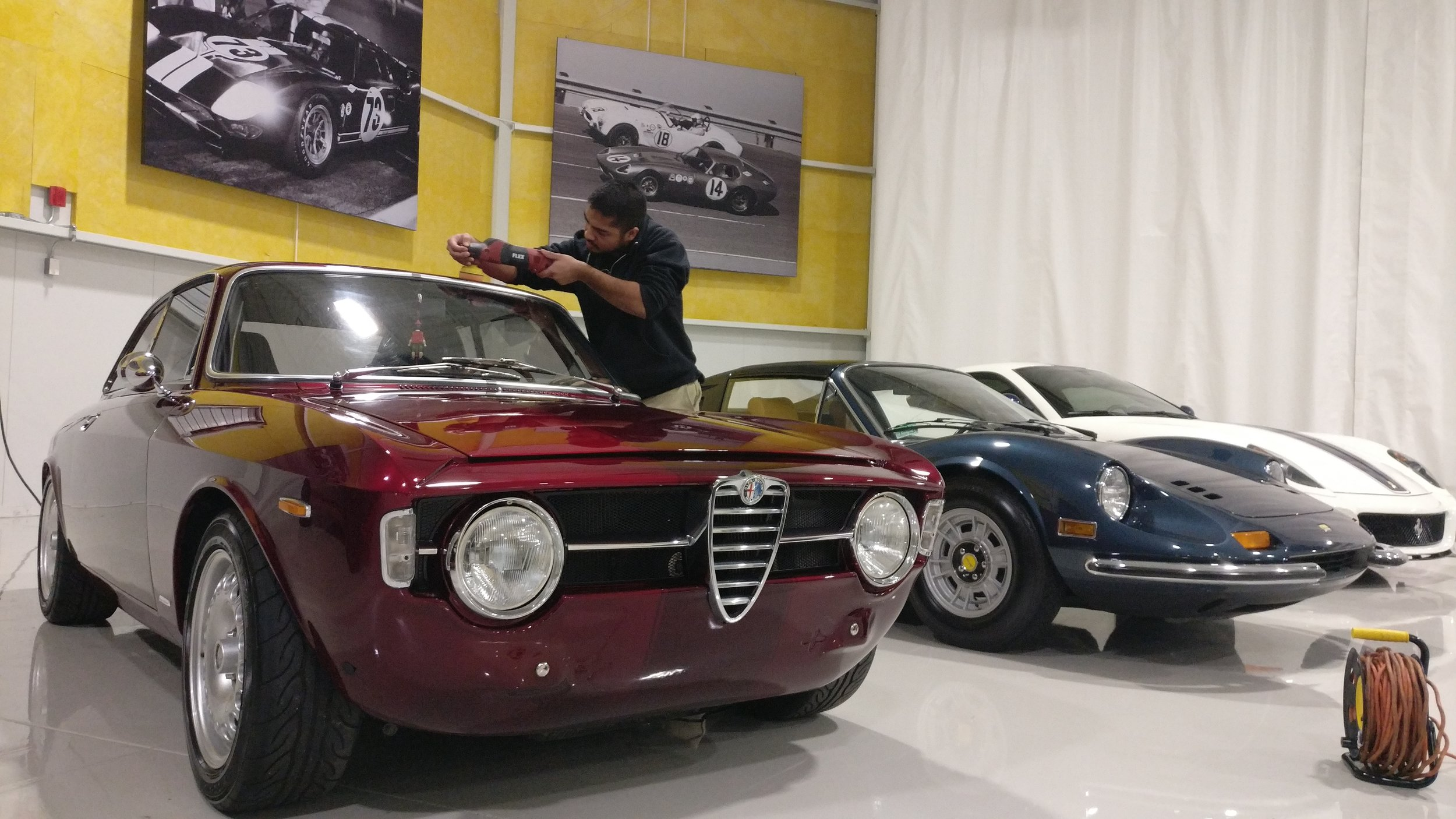 Private Car Collection Detailing